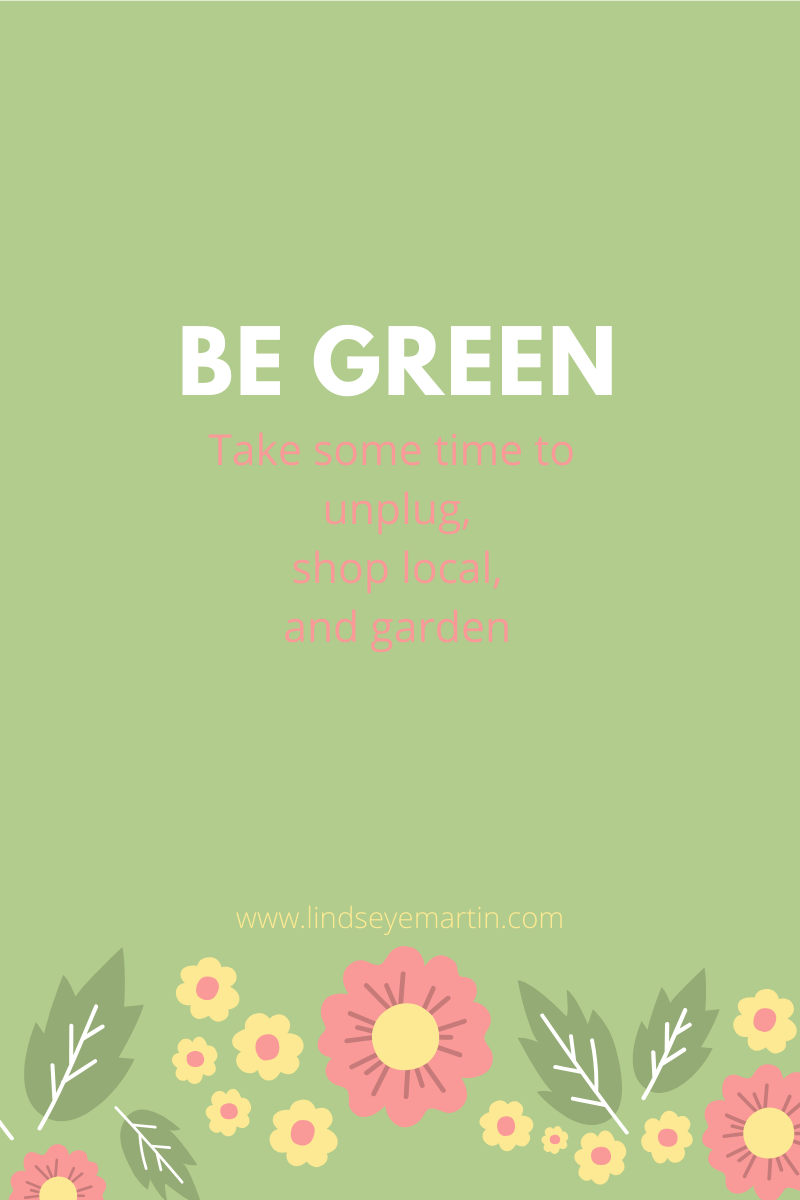 Be Green (3)