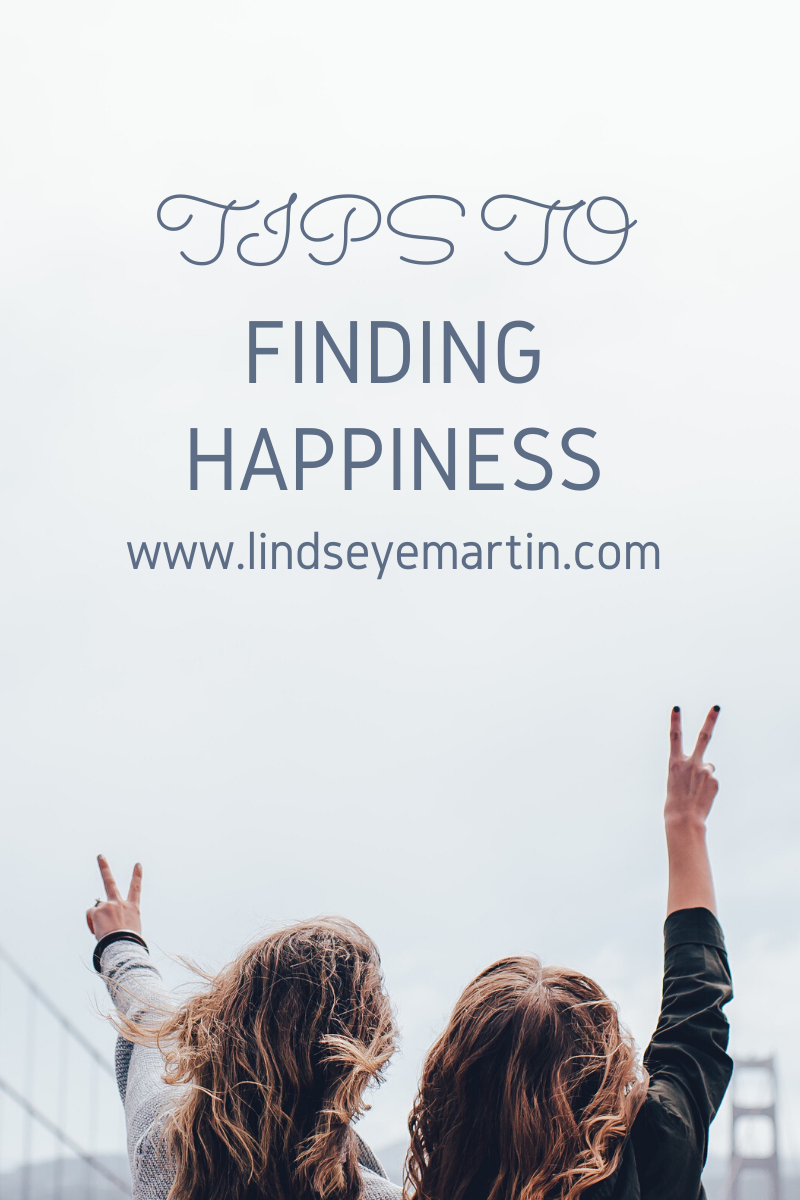 Tips to finding happiness